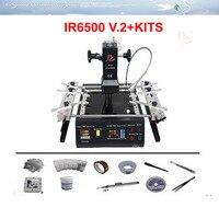 Sur la promotion!!! faible coût IR6500 V.2 BGA Station de Reprise BGA machine de soudage + pcb jig avec vis, vide stylo, bga rebillage kits