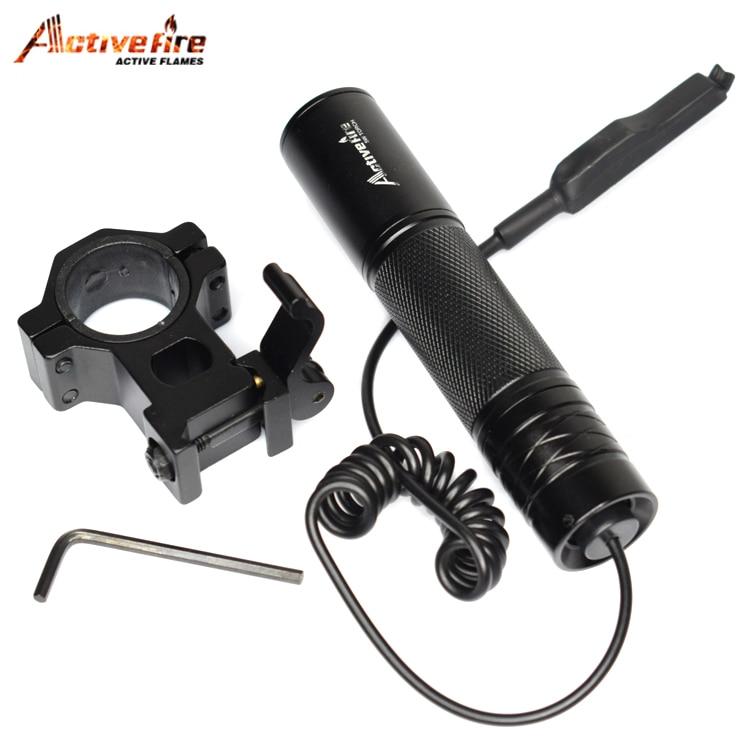 Zoom Infrared torch Novelty Lighting 850nm Zoom Infrared Radiation IR LED Night Vision Flashlight Mount light Light Hunting Lamp