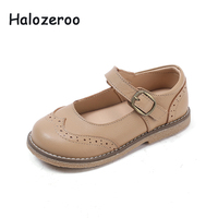 Spring New Kids Fashion Shoes Baby Girls Genuine Leather Flats Toddler Soft Shoes Children Brand Princess Shoes Mary Jane 2019