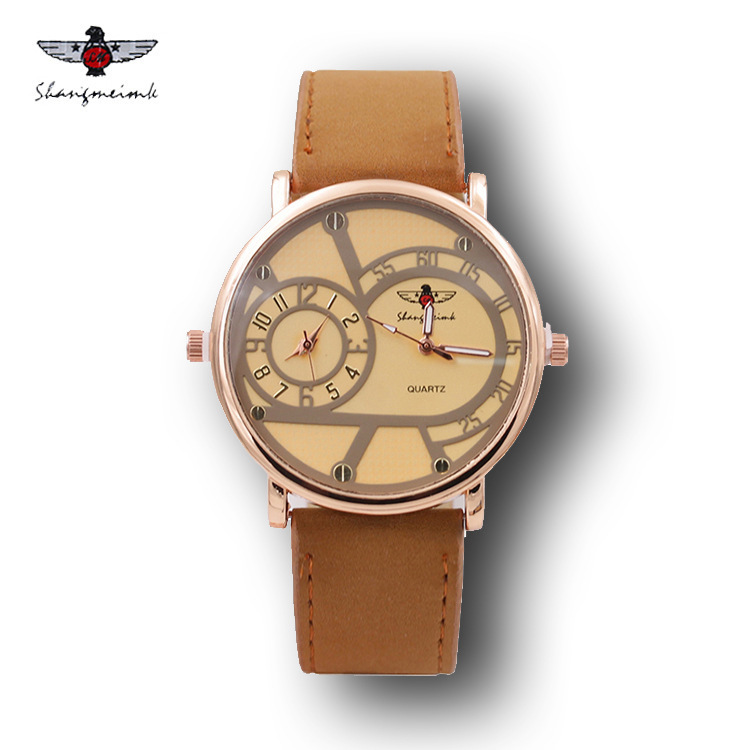 Mens Watches Top Brand Luxury Famous Tag Men's Military Watch 2 Time Zone Men Clock Leather Quartz Watch Man Relogio Masculino top brand luxury oulm 2 time zone men watches military sports quartz watch 2017 men rose golden case relogio masculino box