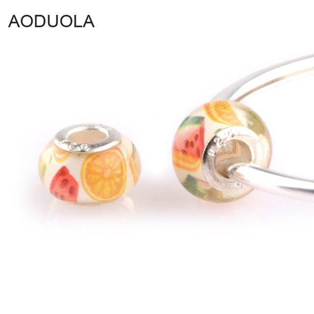 charm pandora fruta