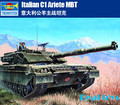 Modelo trompetista 00332 1/35 tanque de C-1 Ariete MBT