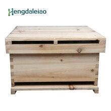Инструменты для пчеловодства/оборудование Langstroth ель улей с 12 рамками для пчеловода