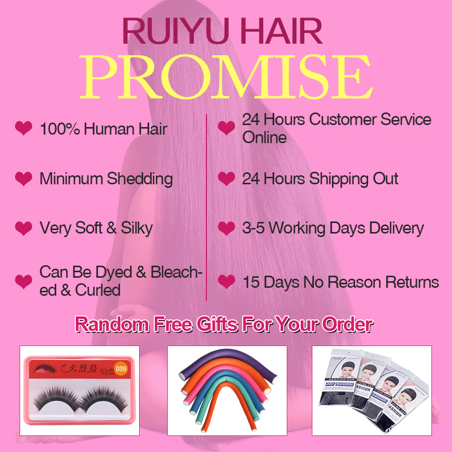 Image 5 - Brazilian Deep Wave Bundles With Closure 100% Human Hair 3 Bundles With Lace Closure Remy Hair Weave Double Weft RUIYU Hair-in 3/4 Bundles with Closure from Hair Extensions & Wigs