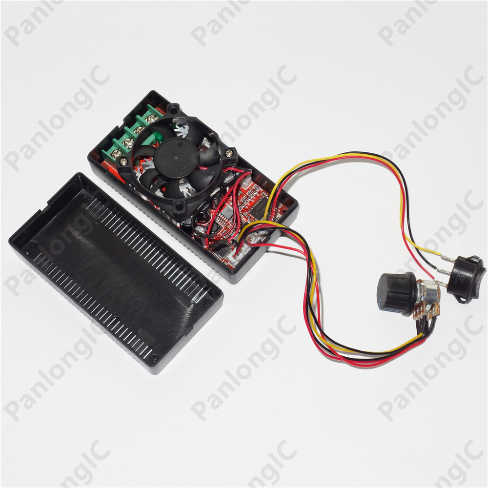 цена DC9-50V 30A H Bridge DC Motor Speed Control Reversible PWM RC Controller 12V 24V 48V 1500W Forward Reverse Programable Switch
