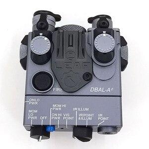 Image 4 - Boîte à piles à Laser rouge AN/PEQ 15A/lumière LED avec interrupteur à distance, fusil de chasse tactique Airsoft