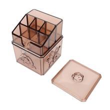Transparent Makeup Storage Box Container Detachable Lipstick