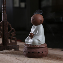 In peace Blessing the young monk incense burner Your kiln authentic teachers Incense coil ta package mail