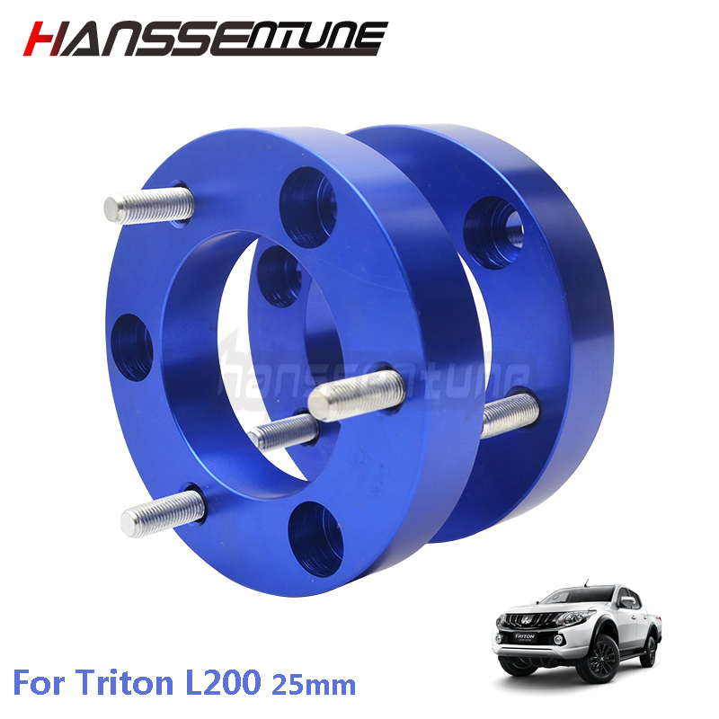 4x4 car  Suspension 25mm Front Extended Strut Coil  spacer For Triton L200 05-14 lift kit for toyota hilux revo