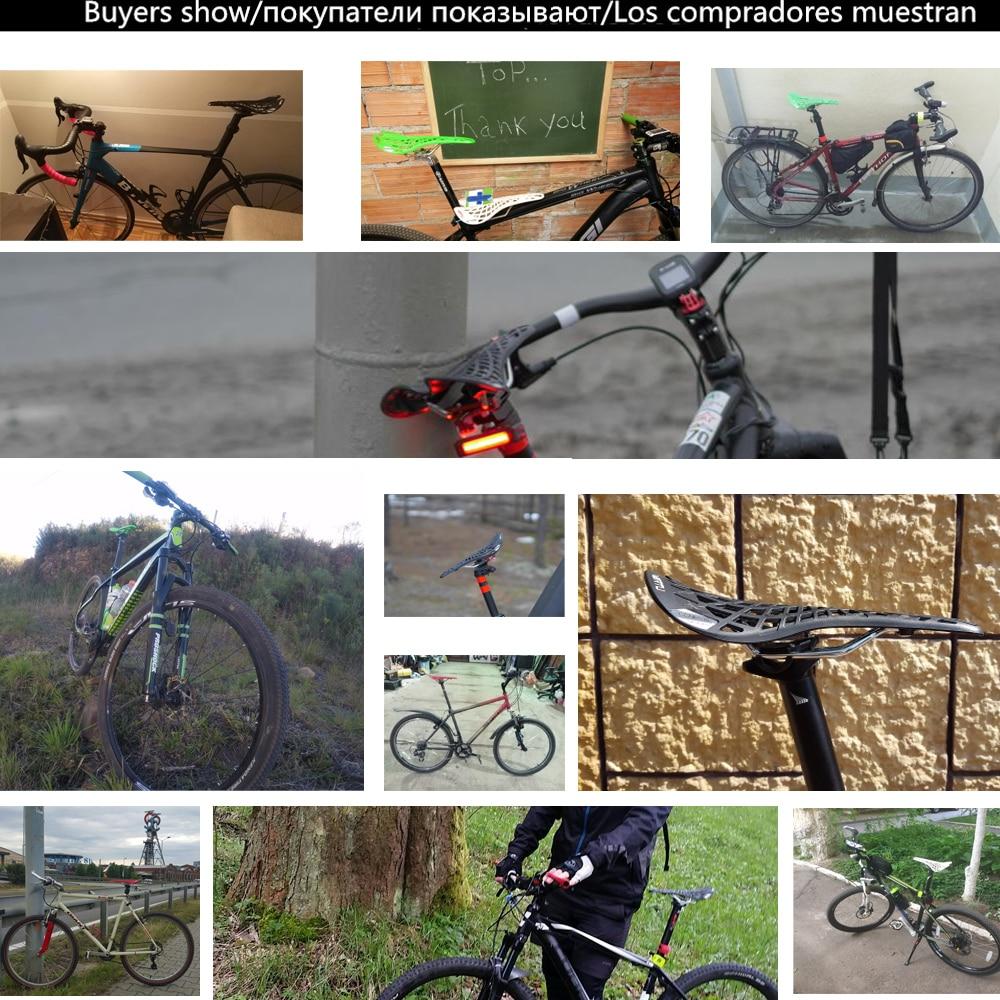 Купить с кэшбэком VXM Bicycle saddle Road Bicycle Mountain bike saddle Cycling Breathable Spider Ergonomic Hollow Front seat Mat Bicycle parts