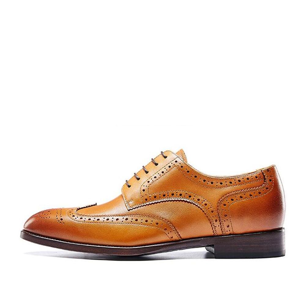 Trabajo Welted Completo Hechos Para A S89501 Zapatos Patina A De Italianos Brogue Sipriks Goodyear s89501 Cuero Hombres s89501 Mano Oficina Genuino Plana s89501 Tallado 4wXTxZq