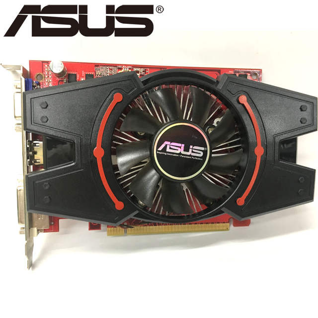US $99 99 |ASUS Graphics Card R7250 2GB 128Bit GDDR3 Video Cards for AMD  Radeon R7 250 VGA Cards Used Equivalent GT730 GT630 GTX 650-in Graphics  Cards