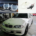 Для BMW E46 M3 с завода оборудованы HID ксеноновые фары Отлично CCFL angel eyes kit Ultrabright освещения Halo Кольцо