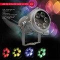 Eyourlife Открытый 6X10 W RGBW 4in1 Мини LED PAR Света IP65 DMX Водонепроницаемый PAR36 Освещение Сцены Диско DJ Party Огни Free корабль
