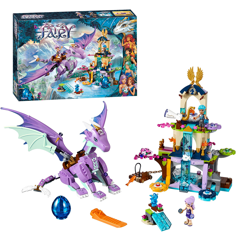 Bela 10549 Elves The Dragon Sanctuary building Blocks Bricks Toys for children Toys Compatible with Decool Lepin 41178 10551 elves ragana s magic shadow castle building blocks bricks toys for children toys compatible with lego gift kid set girls