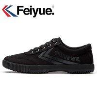 Feiyue black Sneakers men women shoes Classic retro Shaolin Soul series of genuine version canvas shoes