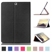 Tab S 2 9 7 Smart Cover Case Touch Series Folding Flip PU Leather Case For