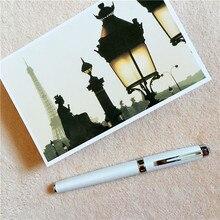 ФОТО white ZY  arrival ballpoint Pen and pen bag School Office Stationery roller ball pens men women business birthday gift 041