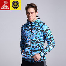 Mountainpeak 2017 running men sweater hoodies. Cardigan zipper long sleeved sportswear leisure fitness SHLMM004