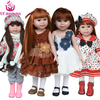 UCanaan Doll Clothes And Shoes Not Contain Doll Fits 18 American Girl Doll Whole Outfit Clothes
