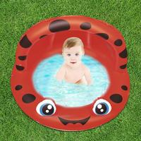 Amusing Kids Summer Water Pool Children Outdoors Swimming Pool Safe Soft Cushion Portable Animal Water Basin With Sunshade
