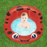 Amusing Kids Summer Water Pool Children Outdoors Swimming Pool Safe Soft Cushion Portable Animal Water Basin With Sunshade