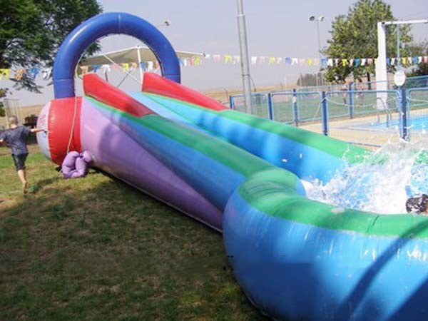 Inflatable children water park water games slides for sale
