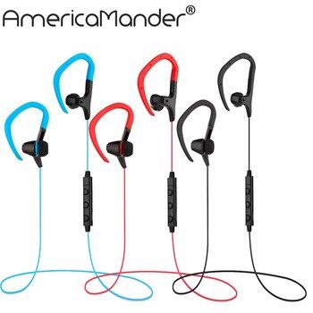 A.Mander 4.1 Wireless Headphone Bluetooth Earphone Bluetooth Headset Microphone Sport Earphone for iPhone Android Phone BT018