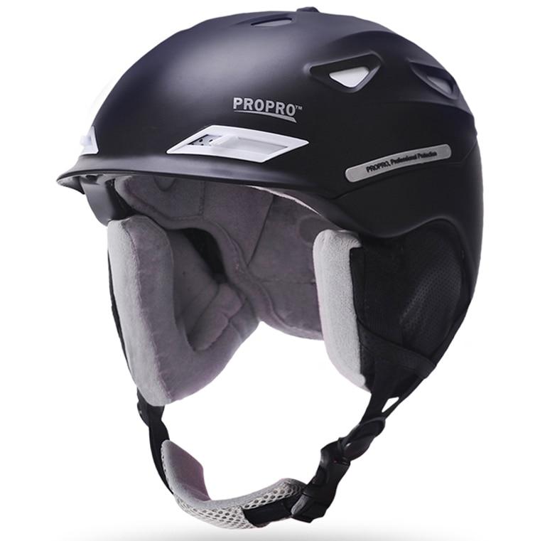 d63319beb1866 Promoção loja de Homem Mulher Snowboard Ski Capacete Inverno Capacete Skate  Moto Bike Ciclismo Snowmobile Trenó Skis Segurança Esporte máscara