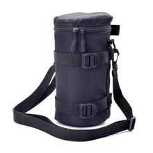Fermeture éclair Photo épaisse étui de protection pochette sac Compatible avec Canon Nikon Sony Olympus Panasonic appareil Photo reflex numérique