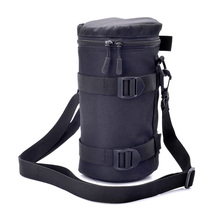 Zipper Photo Thick Protective Lens Case Pouch Bag Compatible with Canon Nikon Sony Olympus Panasonic DSLR Camera