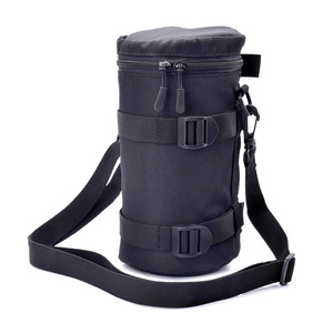 Image 1 - Zipper Photo Thick Protective Lens Case Pouch Bag Compatible with Canon Nikon Sony Olympus Panasonic DSLR Camera