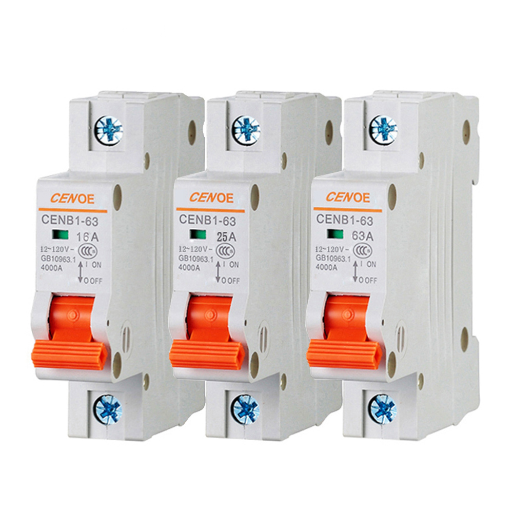 the most ideal good quality prestige DC 120 V electro car DC breaker mini circuit breaker MCB 16A 20A 25A 32A 40A 50A 63A idpna vigi dpnl rcbo 6a 32a 25a 20a 16a 10a 18mm 230v 30ma residual current circuit breaker leakage protection mcb a9d91620