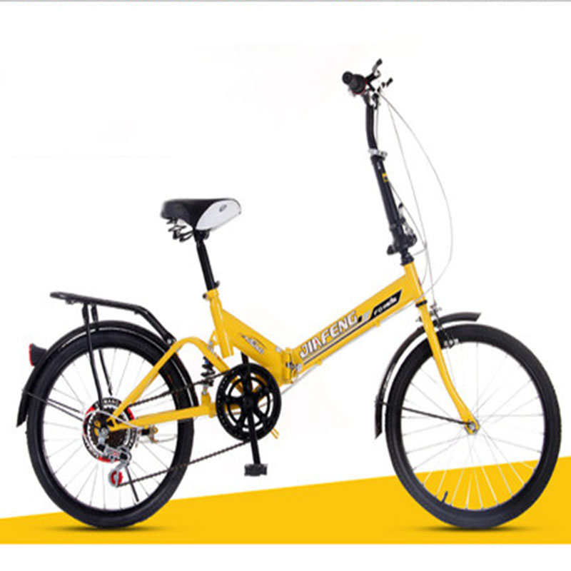 Bicycles With 20-inch Speed Change Fold And Shock Absorb Adult Male And Female Students 2019 New Hot Money Bike
