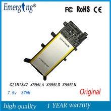 Оригинальный 7.5 В 37Wh ноутбука Батарея для ASUS X555 X555LA X555LD4210 X555LN A555L C21N1347 2ICP4/63/134