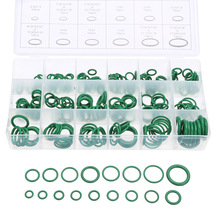 270pcs/Set 18 Sizes Car Auto Air Conditioning Repair HNBR Green O Ring Style O-Ring Styling Seal Car Tools Accessories high quality rubber 270pcs 18 sizes o ring kit green metric o ring seals nitrile