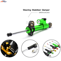 Universal Motorcycle CNC Damper Steering Stabilizer Linear Reversed Safety Control for BMW F700GS F 700 GS F700 GS F 700GS KTM