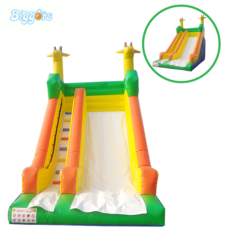купить China Factory Direct Sale Inflatable Dry Slide Giant Inflatable Slide For Sale онлайн