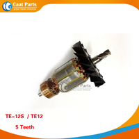 Free Shipping AC 220V Drive Shaft Electric Hammer Armature Rotor For HILTI TE 12S High Quality