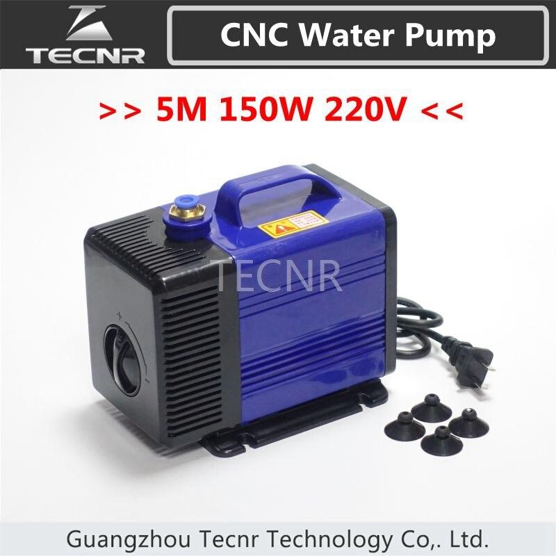 Bomba de Água 4kw e 5.5kw m para Router Cnc Motor Spindle 150 w 220 v 5
