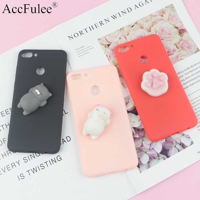 Cute Toys Squishy Case For Huawei Honor 4C 5C 6X 6A 6C Pro 7X 7C 7A 8 Lite 8C 8A 8X Max 8A 9i 9N Funny Cat Cases