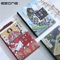 EZONE японский стиль блокнот Печатный Kawaii Японский кот блокнот сетка/пустая/черная карта/точечная матрица страницы блокнот студенческие канц...