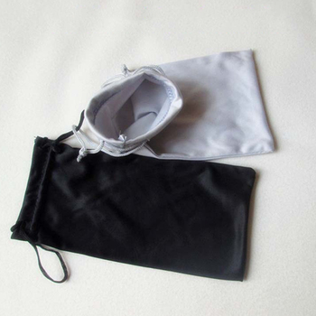 New Polyester Pouches For Sunglasses Soft Cloth Dust Pouch Optical Glasses Carry Bag Drop Shipping