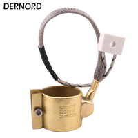 DERNORD 35x35mm 220v 170w Electric Extruder Band Heater Brass Heater Band for Injection Molding Machine