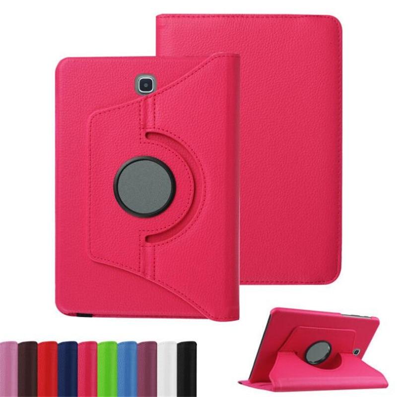 For Samsung Galaxy Tab S2 8.0 Inch T710 T713 T715 T719 SM-T710 SM-T715 Tablet Case 360 Rotating Bracket Flip Leather Cover