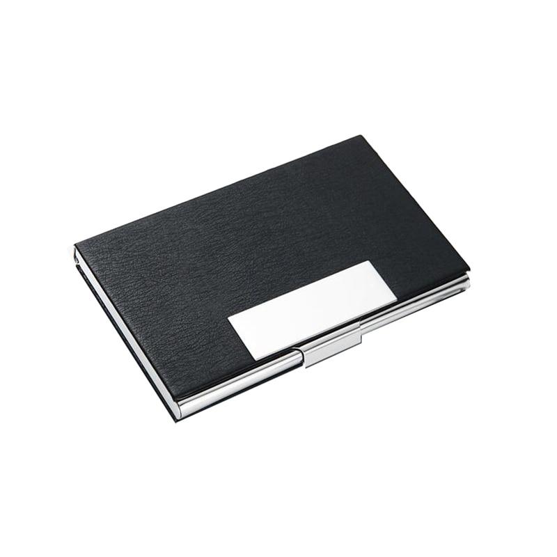 Metal RFID Blocking Business Card Holder Card Stainless Steel ...