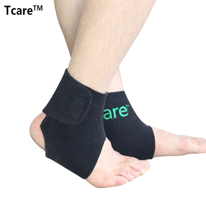 1 Pair Tcare New Health Care Self-heating Tourmaline Ankle Brace Support Tourmalin Belt Magnetic Therapy Ankle Massager