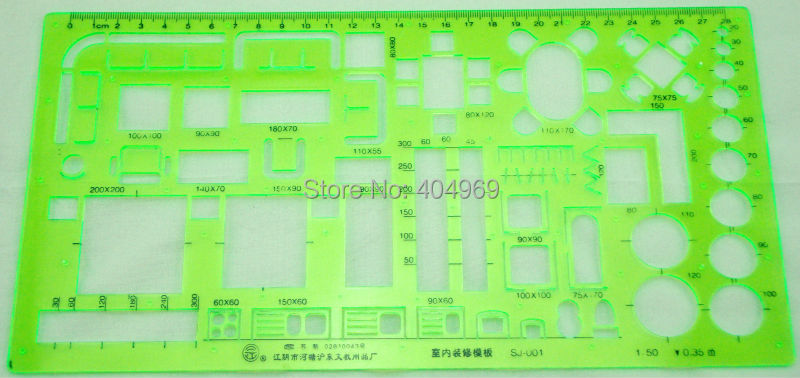 Matric 150 Scale Technical Architectural Drawing Template Stencil Furniture Symbols For House Interior Floor Plan Design In Rulers From Office School