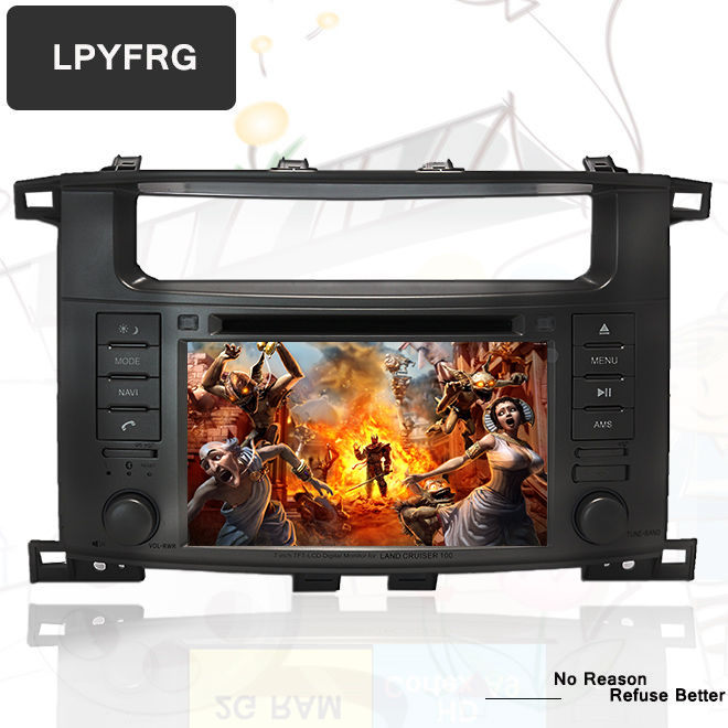 4G RAM Octa Core 64G Android 9 0 Car DVD for Toyota LAND CRUISER 100 1998