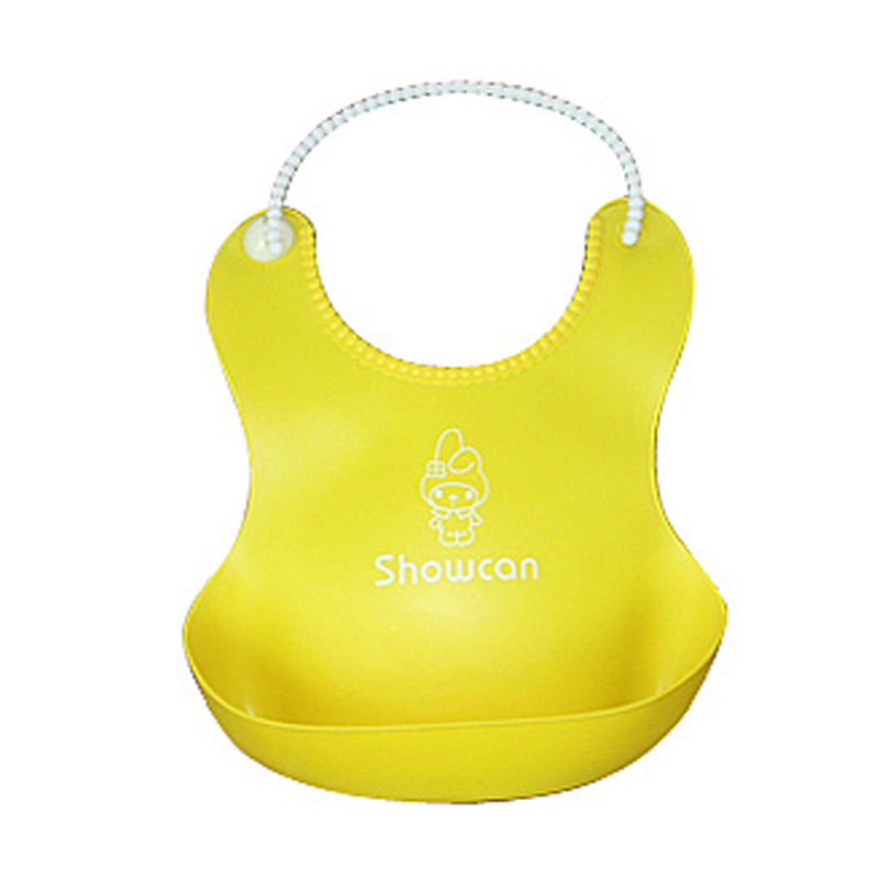New Lovely Baby Infants Kids Cute Silicone Bibs Baby Lunch Bibs Cute Waterproof Baby Bibs Waterproof